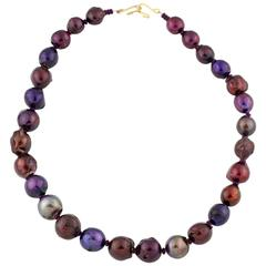Rainbow of Pearls Necklace