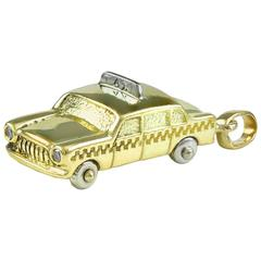 Tiffany & Co. Gold Taxi Charm