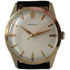 Rolex Yellow Gold Automatic Dress Wristwatch