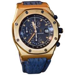 Audemars Piguet Royal Oak Offshore Yellow Gold Wristwatch