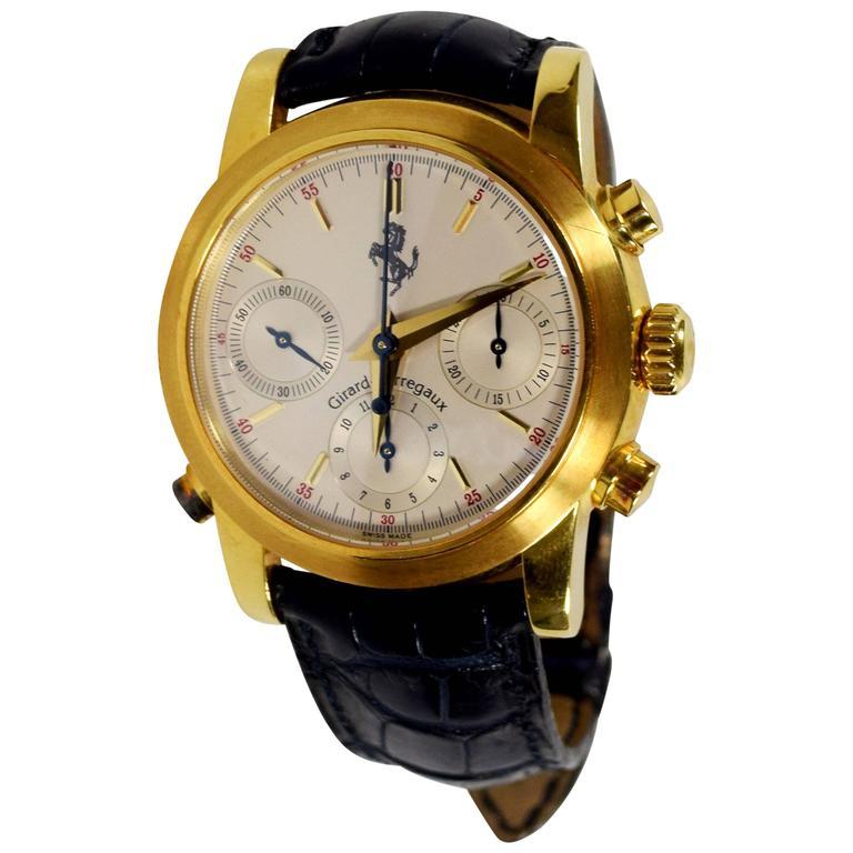 mens fe watch ferrari dial men leather granturismo and s black yw yellow chronograph cp ipb