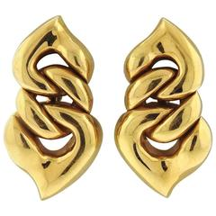 Bulgari Gold Doppio Earrings