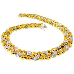 Poiray Diamond Gold Necklace