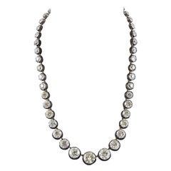 Graduated Diamond Necklace