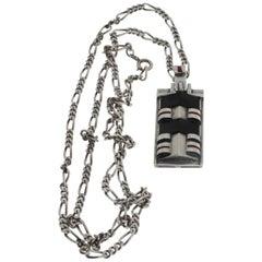 Theodor Fahrner Art Deco Silver Chain Pendant
