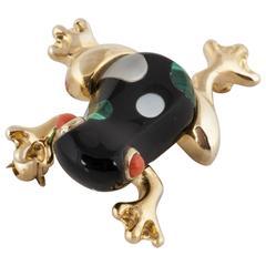 Asch Grossbardt 14K Frog Pin