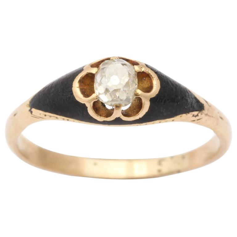 Banded Agate Victorian Ring