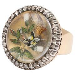 Exquisite Essex Crystal and Diamond Ring