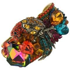 Wendy Gell Parrot Cuff Bracelet