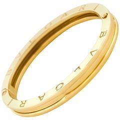 "Bulgari ""Zero"" Gold Bracelet"