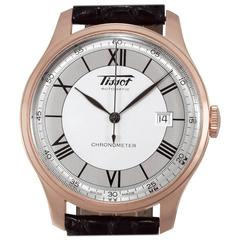 Tissot Rose Gold Chronometer Automatic Wristwatch Ref H700333