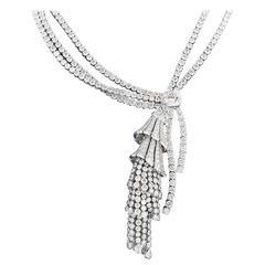 Boucheron Diamond Platinum Necklace