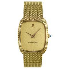 1970's Audemars Piguet Manual Wind Gold Watch