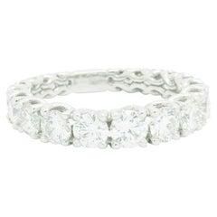 2.62 carat Eternity Diamond ring in 18 Karat Gold