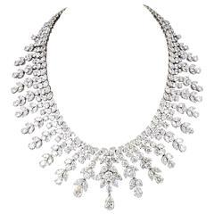 Important 150 carat Diamond Drop Necklace