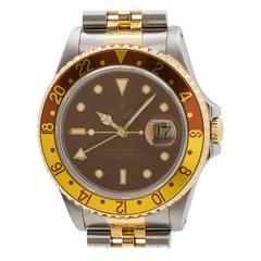Rolex GMT II ref# 16713 SS/18K YG circa 1991