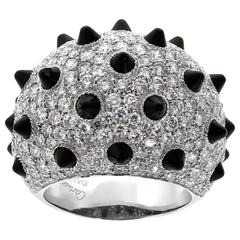 Cartier Onyx Diamond Panthere Ring