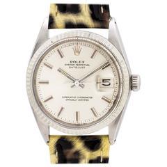 Rolex Stainless Steel Datejust Ref 1601 1970