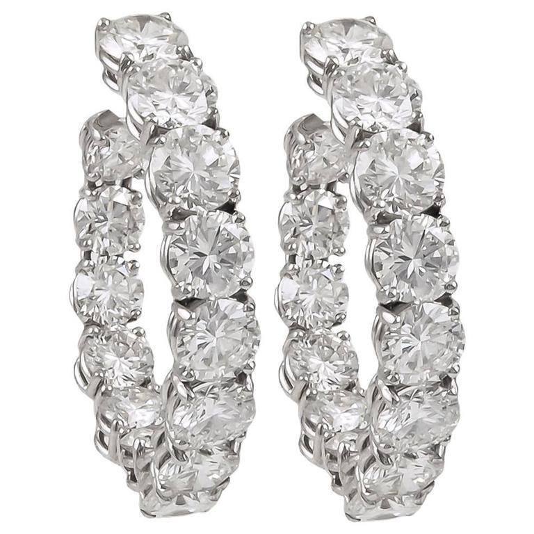 Harry Winston Diamond Earrings At 1stdibs