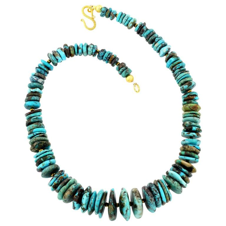 Extraordinary Turquoise Multi-color Necklace