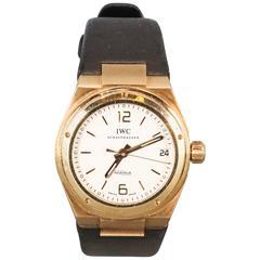IWC Ingenieur Yellow Gold Wristwatch