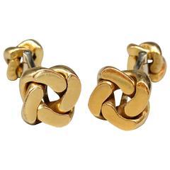 Van Cleef & Arpels Gold Knot Cufflinks