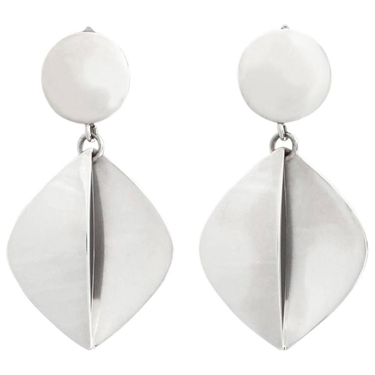 boutique geometric modern modernist happiness en earrings