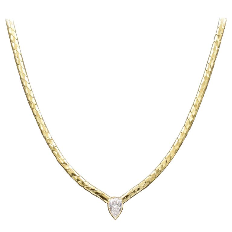 Henry Dunay Diamond Necklace