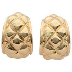 Chaumet Chunky Hoop Earrings