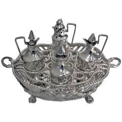 Dutch Silver Miniature Toy Cruet 19th century
