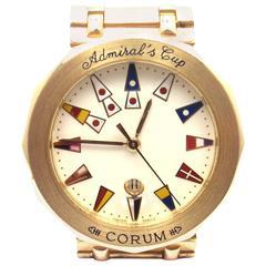 Corum Admiral's Cup Yellow Gold Men's Watch