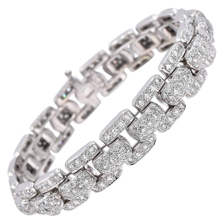 Cartier Diamond  Bracelet For Sale