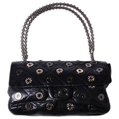 Rare Chanel Limited Edition Swarovski Lucky Charms Chain Shoulder Bag