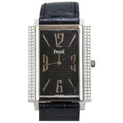 Piaget Black Tie White Gold Diamond Watch