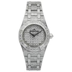 Audemars Piguet Royal Oak Full Baguette Diamond Watch Ref. 67606BC.ZZ.9179BC.01