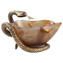 Mellerio Paris Agate Bowl