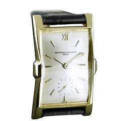 Vacheron & Constantin, Flared & Faceted wristwatch dated 1953