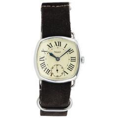 Rolex Sterling Silver Dress Model Wristwatch
