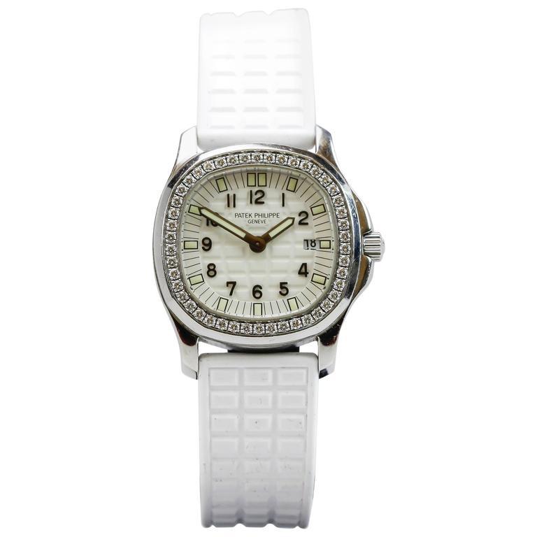 Patek Philippe Aquanaut Luce Pure White Ladies Watch Ref 4961A-011 1