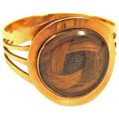 Antique  Gold Memorial Ring