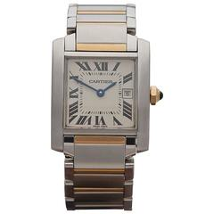Cartier Tank Francaise mid size ladies W51012Q4 or 2465 watch