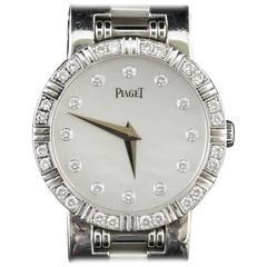 Diamond Dial & Diamond Bezel Piaget Dancer Gold Ladies Watch