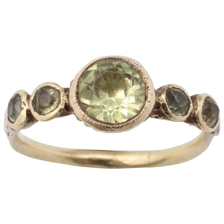 chrysoberyl georgian products ring rings antique