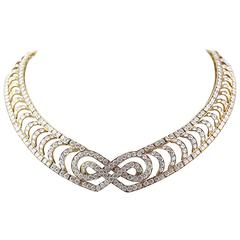 Mauboussin Paris Diamond Collar Necklace