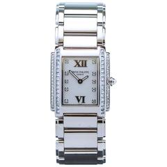 Patek Philippe Twenty-4 White Gold/Diamonds Ref 4910/20G-011