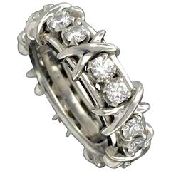 Jean Schlumberger for Tiffany & Co Diamond Ring in Platinum