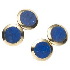Cartier Lapis Lazuli Cufflinks