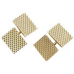 Cartier Gold Cufflinks