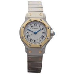 Cartier Santos ladies 187902 watch