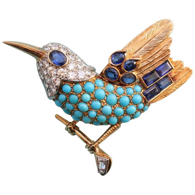 Cartier Paris Bird Brooch